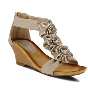 Patrizia Harlequin Women's Wedge Sandals 7M